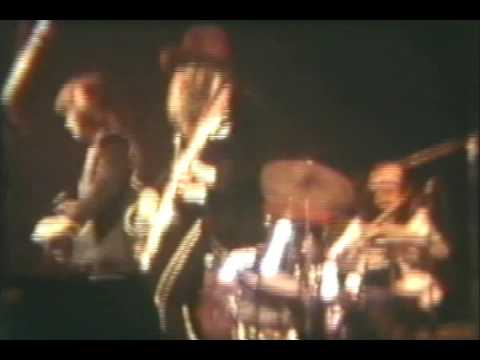 Tommy Bolin with The James Gang Buffalo Memorial Hall 74