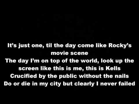 Machine Gun Kelly - Invincible Lyrics video