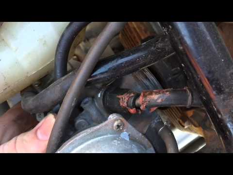 2003 Honda Rancher 350 carburetor fix