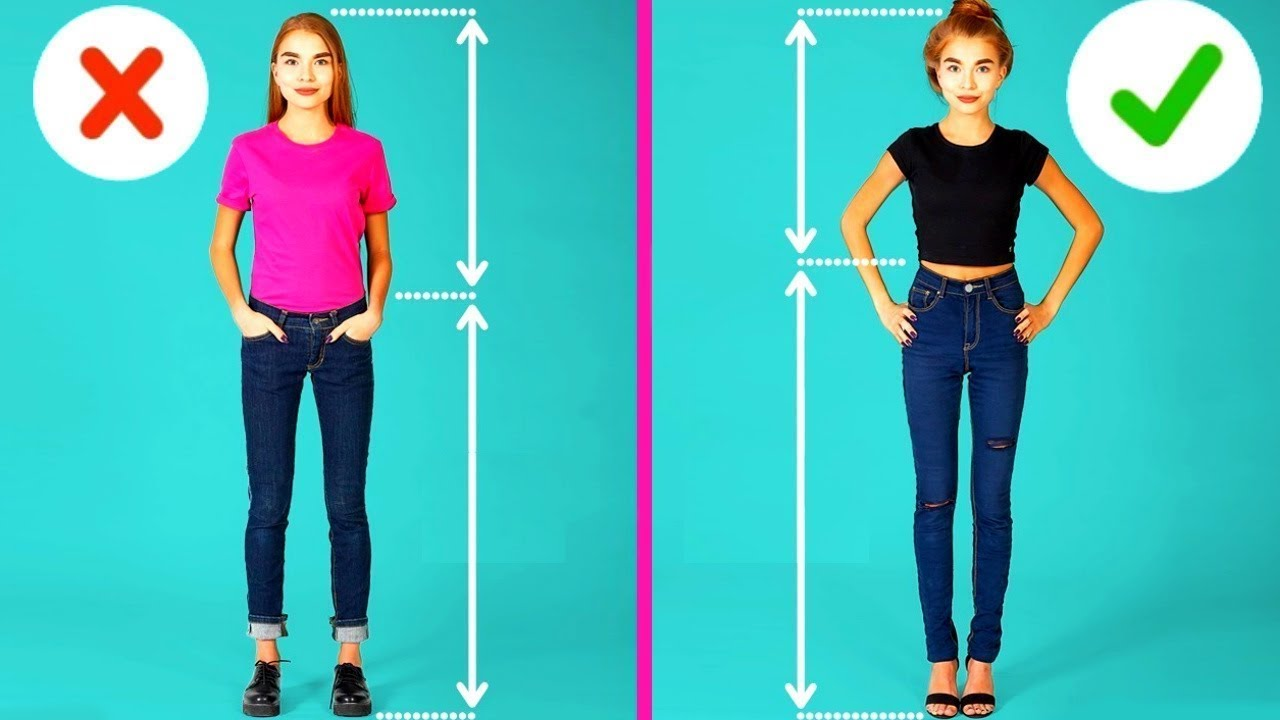 Что одеть при низком росте