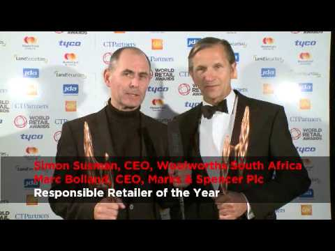 World Retail Awards 2012 Responsible Retailer of the Year: Marks & Spencer Plc and Woolworths SA