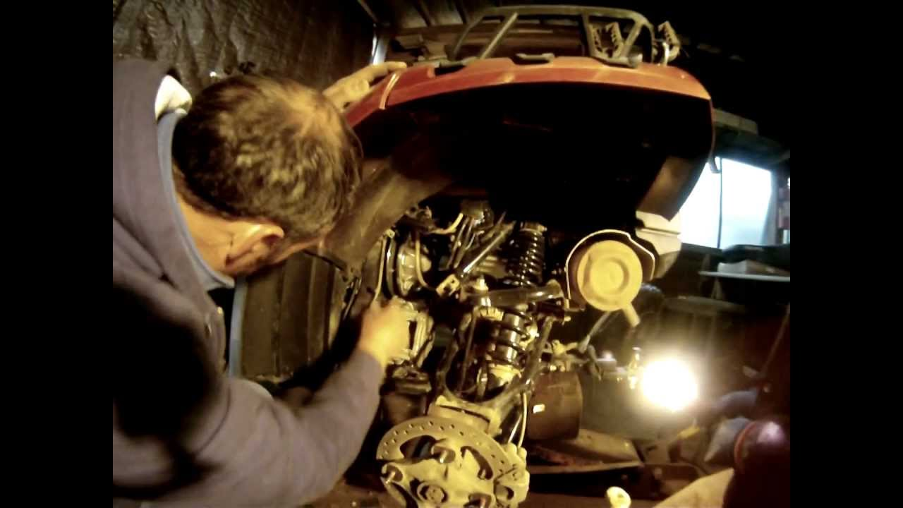 Replacing Polaris Sportsman 850 Xp Belt Drive Youtube
