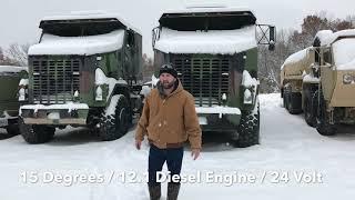 NOCO GB500 24V & 12V Jump Starter On M1070 HET 8x8 Oshkosh Truck