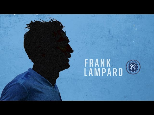 Former Chelsea and England captain Frank Lampard joins New York City F.C.