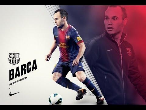 Andres Iniesta ¤ Le magicien du foot ¤ HD
