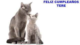 Tere - cats - Happy Birthday