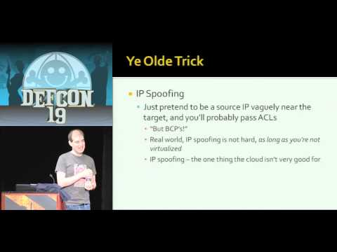 DEFCON 19: Black Ops of TCP/IP 2011 (w speaker)