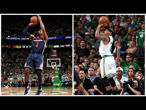John Wall (40 Pts/13 Ast) And Isaiah Thomas (53 Pts) Go Head-to-Head In Game 2   May 2, 2017
