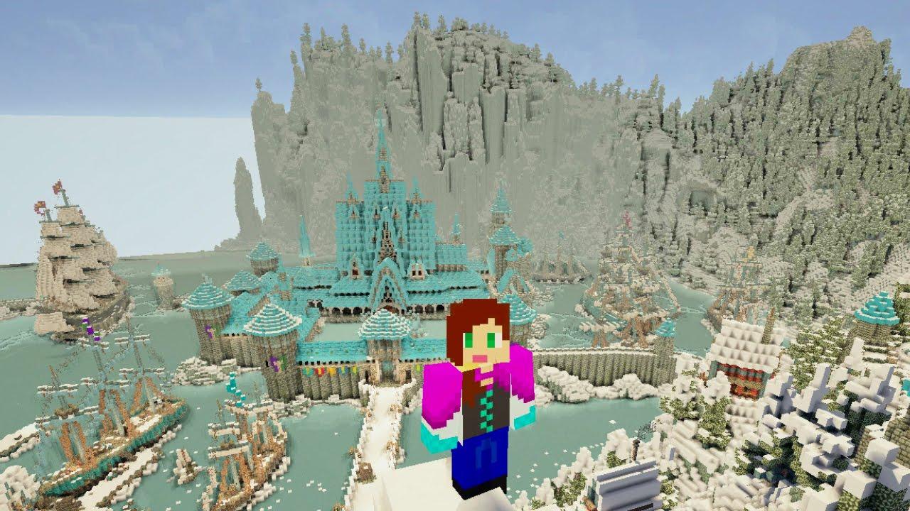 Frozen Minecraft Map