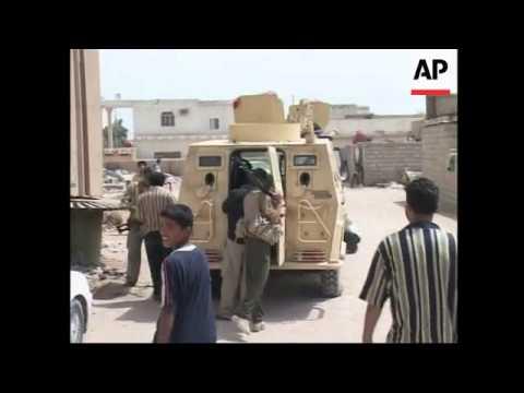 Al-Sadr aide statement, Mahdi army takes over military HQ