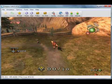 Legend of Zelda: Twilight Princess (Em português) on Dolphin SVN R 4712 - GameCube Emulator