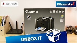 01. Canon Office Maxify Wireless Inkjet MFC Printer MB5160 Unboxing
