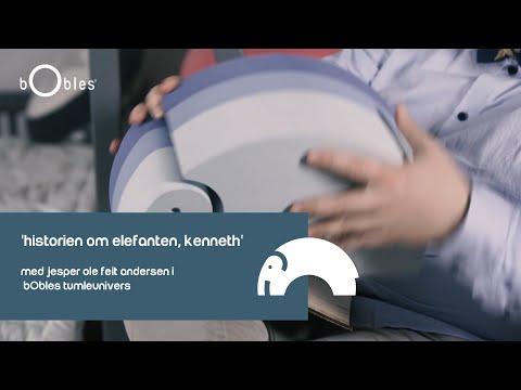 'Historien om elefanten, Kenneth' med Jesper Ole Feit Andersen i bObles Tumleunivers.