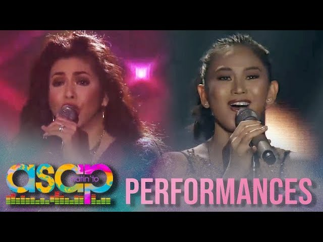 ASAP Natin 'To: Regine and Sarah perform their splendid rendition of Whitney Houston's songs