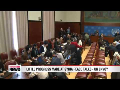 Little progress made at Syria peace talks - UN envoy