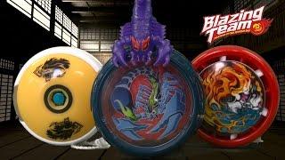 Blazing Team Morph Master, Beast Wrangler & Battle Spin Yo Yo from Hasbro