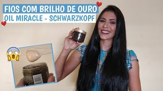 ✨BC BONACURE OIL MIRACLE GOLD SHIMMER✨ - SCHWARZKOPF | Larisse Gama