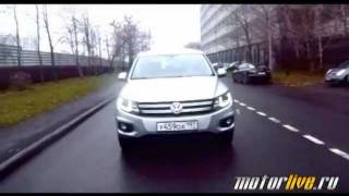 Тест Volkswagen Tiguan Diesel 2012