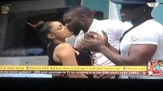 VIDEO: Big Brother Naija 2017: #Bally kissing #Gifty on #BBNaija #Bbn @zebnony1