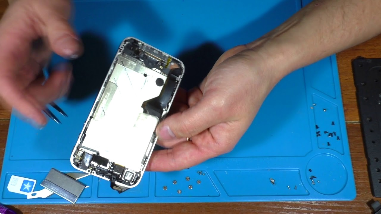 Разобрать айфон 4 своими руками 39