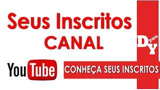 Como saber quem está inscrito no seu canal do Youtube ( iniciantes) // Dicas Para Youtubers //