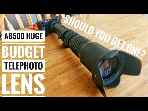 A6500 - Massive 500-1000mm Lens - It's 80 Bucks, Does it Suck?