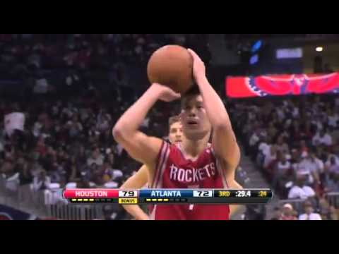 Jeremy Lin & James Harden points - Houston Rockets vs Atlanta Hawks - Full Highlights (02/11/2012)
