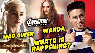 Avengers Endgame Star Elizabeth Olsen Auditioned For Game of Thrones Daenerys Targaryen