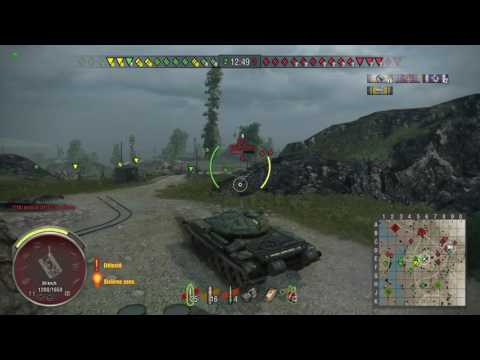 World of Tanks PS4 - T-54 epic decap@4min