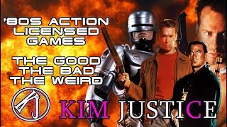 '80S ACTION LICENSED GAMES: THE GOOD, THE BAD AND THE WEIRD | Kim Justice