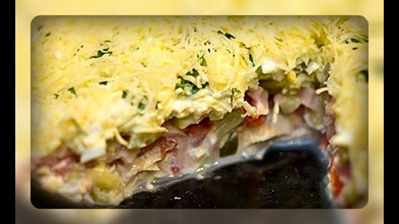 Пошаговый фото рецепт салата русская красавица
