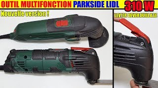 outil multifonction lidl parkside pmfw 310 d2 Multi-Purpose Tool Multifunktionswerkzeug