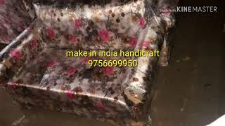 Saranpur tent sofa for make in india handicraft