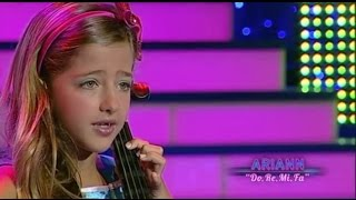The sound of music - Do Re Mi Fa - 8 years old ARIANN (live TV) Dalas Review