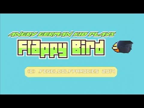 Angry German Kid Plays Flappy Bird video