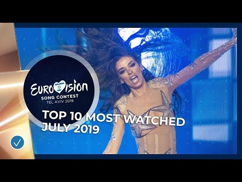 TOP 10: Most watched in July 2019 - Eurovision Song Contest