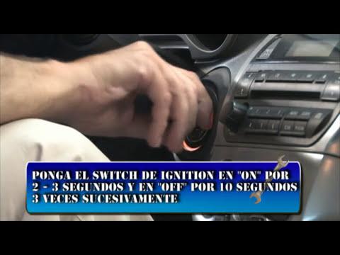 Nissan P0505 P0507 Recalibracion de minimo y prueba de sensor de arbol de leva y ciguenal