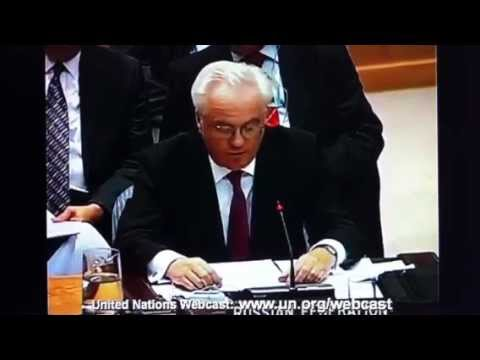 Considering Brutal Destruction of Iraq & Libya Russia Explains Veto on Resolution  Against Syria