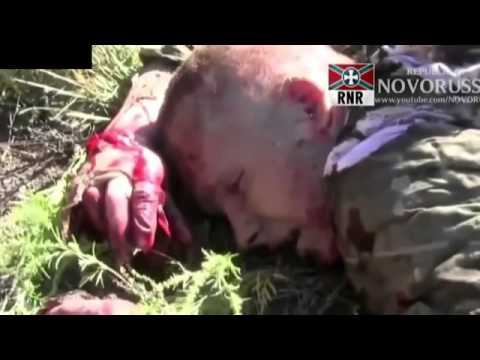 Russian soldiers deny aid to dying Ukrainian soldier