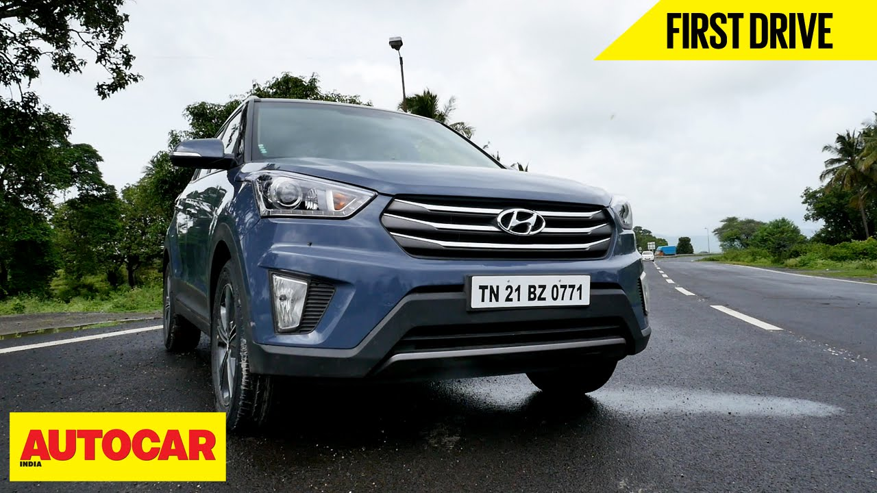 Hyundai Creta | First Drive | Autocar India - YouTube