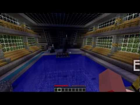 Minecraft Olympics 2012 w/Bahoookie - Ep. 5 [DIVING]