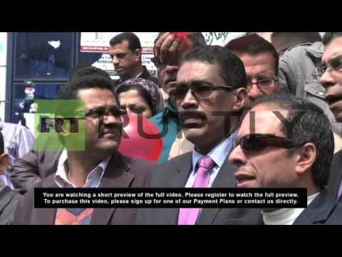 Egypt: Journalists protest against the Muslim Brotherhood