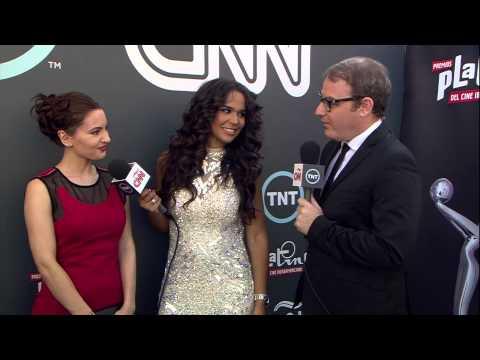 TNT | Premios Platino | Ivana Baquero
