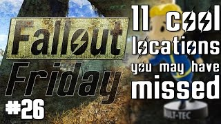 Fallout 4 - 11 cool locations you may have missed - Fallout Friday