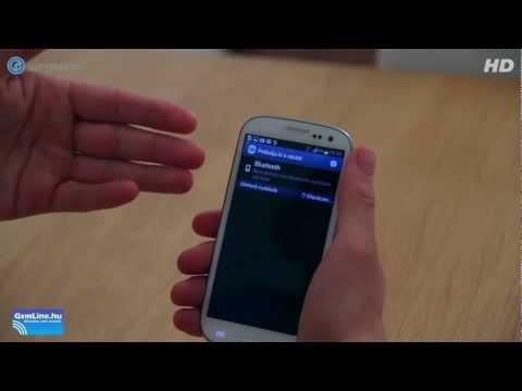 Samsung Galaxy SIII (S3) mobiltelefon teszt - GSM online™
