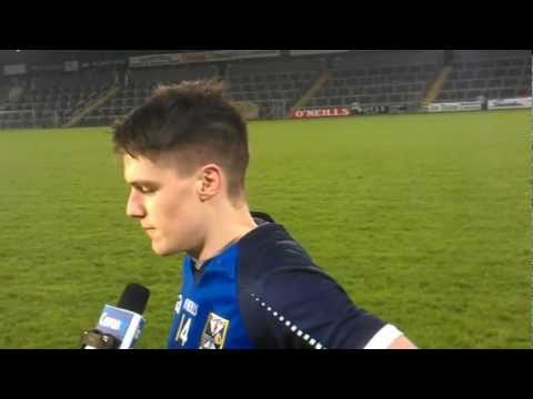 Cavan's U-21 Top Scorer Kevin Tierney speaks to Sean McMahon.