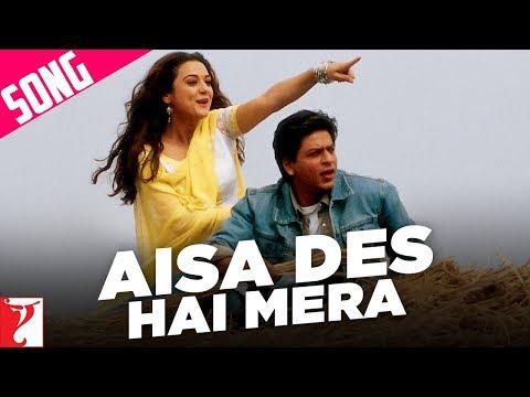 Aisa Des Hai Mera - Song | Veer-Zaara | Shah Rukh Khan | Preity Zinta