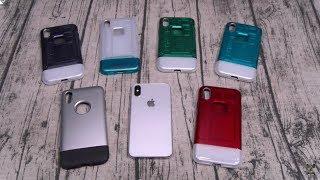 Spigen Classic One / Classic C1 Retro iPhone Cases (iPhone 8, 8 Plus, 10)