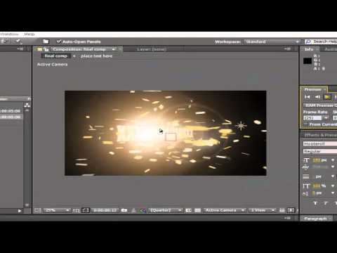 COMO EDITAR INTROS EM ADOBE AFTER EFFECTS-PARTE 1 (+100 INTROS)