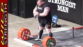 Eddie Hall Deadlift World Record 500kg (1102lbs) - Includes Full Aftermath!!